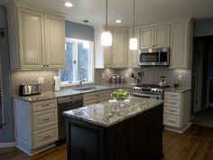 Check out this beautiful kitchen remodel completed by Lowe's Project ...