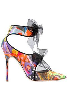 Manolo Blahnik Multicolor Sandal