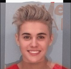 2 GIFs Of Justin Bieber's Mugshot Morphing Into Miley Cyrus' Face That Prove They Look Identical