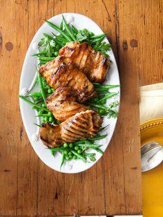 If you like chicken teriyaki, try maple-glazed chicken.