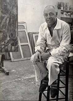 Dubuffet, Jean - French artist. What a wonderful childlike sense of wonder he was able to convey.