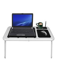 Look what I found on #zulily! White Portable Work Station Table #zulilyfinds