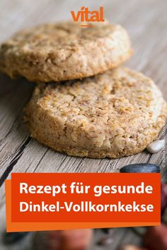 Rezept für gesunde Dinkel-Vollkornkekse Cookies taste good in every season, whether spring, summer, autumn or winter – you can always eat cookies. How about these healthy whole grain biscuits? Healthy Chicken Recipes, Salmon Recipes, Spelt Biscuits, Salud Natural, Diy Cupcake, Biscuit Cookies, Food Items, Key Lime, Pesto
