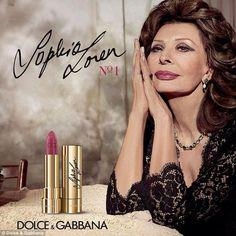 O batom de Sophia Loren para D&G