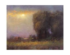 ARTFINDER: Soft Glow 8-18-15 by Don Bishop - Soft Glow 8-18-15 is a nice colorful impressionist landscape oil painting. This piece beautiful light and atmosphere. This 11x14 plein air impressionist sty...