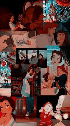 Disney Phone Wallpaper, Cartoon Wallpaper Iphone, Iphone Wallpaper Tumblr Aesthetic, Cute Cartoon Wallpapers, Vintage Wallpapers, Iphone Wallpapers, Wallpaper Backgrounds, Aesthetic Wallpapers, Collage Disney