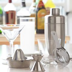 The Tools You Need for a Basic Home Bar