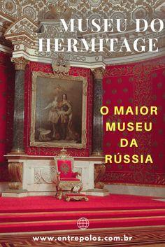 Atração mais popular de São Petersburgo. Um dos Maiores Museus do Mundo.