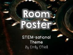 This poster is a fantastic way to show your theme and tell everyone whom you are. I have included a poster for Kindergarten - 5th grade as well as a generic poster. These posters are editable in Power Point.