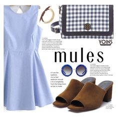 """""""Slip 'Em On: Mules With Yoins"""" by fattie-zara ❤ liked on Polyvore featuring Tory Burch, Dolce&Gabbana, mules, yoins, yoinscollection and loveyoins"""