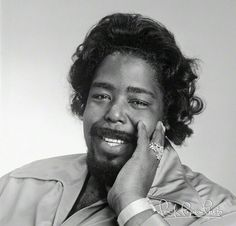"Sep 12 1944 Barry White is Born White was born Barrence Eugene Carter in Galveston, Texas and grew up in the high-crime areas of South Central Los Angeles.  At 17, he was jailed for four months for stealing $30,000 worth of Cadillac tires.  Elvis Presley singing ""It's Now or Never"" on the radio, an experience he later credited with changing the course of his life. After his release, he left gang life and began a musical career at the dawn of the 1960s in singing groups before going out on…"