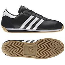 26a11662cc58ef Adidas originals country ii junior   older boys trainers black uk size 5