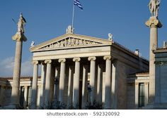 athens academy front view