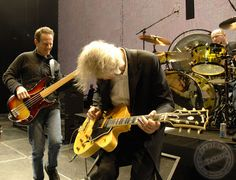 LZ jamming with Jason Bonham, January 2009
