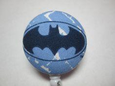 Batman+Badge+Reel++Batman+Batshield+Blue++Ready+by+adrisadorables,+$7.25