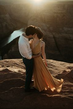 This canyon engagement is enchanting   Image by Shepard Visuals