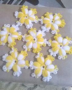 [] #<br/> # #Needle #Lac   <br/> Nee Cute Crochet, Crochet Crafts, Crochet Doilies, Crochet Flowers, Crochet Borders, Easy Crochet Patterns, Baby Knitting Patterns, Puff Stitch Crochet, Yarn Shop