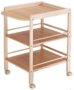 Verzorgingstafel:  Verzorgingstafel GeutherDeze verzorgingstafel heeft alles wat ouders maar kunnen wensen: uiterst mobiel, tijdloos design en ruim!Onderaan voorzien van 2 ruime schappen om bv. vochti