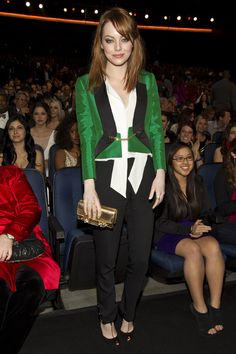 Emma Stone,stylist kate young,red carpet,  #Emma Stone  #redcarpet #kate young
