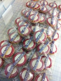 london underground cookie favours