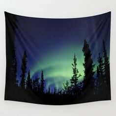 Buy Aurora Borealis Wall Tapestry by 2sweet4words Designs. Worldwide shipping available at Society6.com. Just one of millions of high quality products available.
