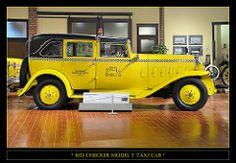 cbb64eb44ba63 1933 Checker Model T Taxi Cab