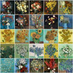 https://www.facebook.com/MiaFeigelson - Van Gogh - Mia Feigelson Gallery Floral Paintings by Vincent van Gogh — Together with Monika Monika, Damian Adamowicz, Cornelia Chira, Barbara Balcerzak ve Elżbieta Elizabeth El