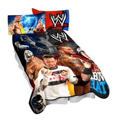 Wrestling Bedroom Decor Delectable My Son Would Love One Of These Wwe Supastar Pinterest Decorating Inspiration
