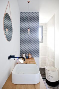 small bathroom storage ideas is categorically important for your home. Whether you choose the bathroom remodel tips or diy bathroom remodel ideas, you will create the best bathroom remodeling for your own life. Modern Master Bathroom, Bathroom Gray, Master Bathrooms, Minimalist Bathroom, Diy Bathroom Remodel, Bathroom Ideas, Bathtub Ideas, Budget Bathroom, Design Bathroom