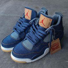 """Levis Air Jordan 4 """"Denim"""""""