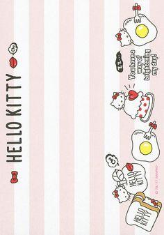 Sanrio Hello Kitty Memo w/ Stickers Hello Kitty My Melody, Sanrio Hello Kitty, Cute Envelopes, Memo Notepad, Hello Kitty Themes, Kawaii Doodles, Hello Kitty Wallpaper, Bullet Journal Ideas Pages, Cat Stickers