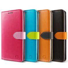 LG G4 Wallet Case [LIFIC Vivid Diary] Card/Cash Slot,Kickstand Leather Skin