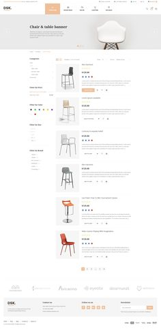DSK Is A Ecommerce Web Template Suitable For Open Source Has 3 Layouthome Pages 17 Innerpage Product List Pr