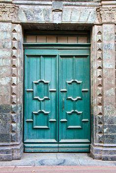 Church Door - France