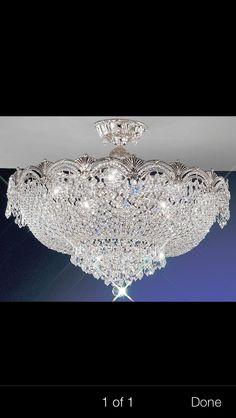 Swarovski Ceiling Light