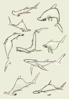 Hammerhead Shark by Polarkeet on deviantART