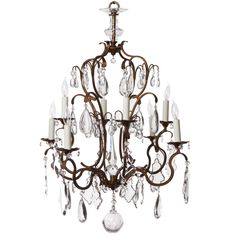 German Neoclassical Crystal Obelisk Chandelier | From a unique collection of antique and modern chandeliers and pendants at https://www.1stdibs.com/furniture/lighting/chandeliers-pendant-lights/