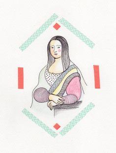 La Gioconda de K (Carolina Romero) Mona Lisa, Funny, 50 Shades, Madonna, Behance, Fifty Shades, Funny Parenting, Hilarious, Fun