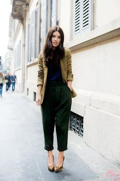 olive and black.