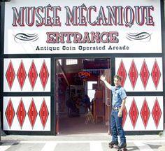 A San Francisco il Musee Mecanique: gioco vintage nel molo più famoso del mondo
