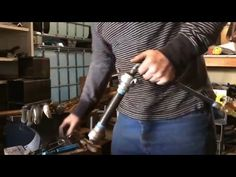 How to build a single burner propane forge for blacksmithing - YouTube