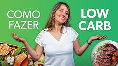 Como fazer a DIETA LOW CARB do jeito certo para emagrecer - YouTube Dieta Low, Detox, Low Carb, Youtube, Pizza, Healthy Recipes, Yummy Recipes, Get Lean, Kitchen