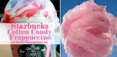 Cotton Candy Frappuccino