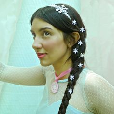 Snowflake headband tutorial by Mark Montano: Queen Elsa's Jewels from Frozen!