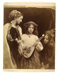 Julia Margaret Cameron, The Minstrel Group. #photography #art #kunst