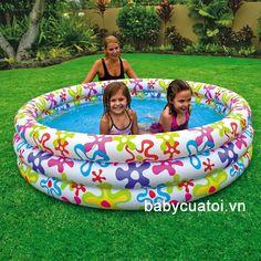 Bể bơi phao INTEX hoa văn 56440