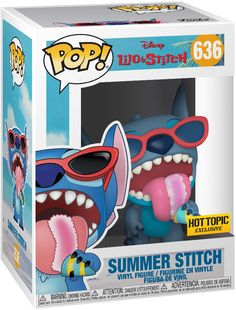 Stitch Disney, Lilo Et Stitch, Pop Figurine, Figurines Funko Pop, Funk Pop, Best Funko Pop, Pop Disney, Funko Pop Dolls, Animation Disney