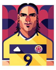 Falcao for CROMOS Magazine