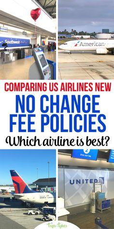 """Need to book a flexible airline flight? As of August 2020, United, American, and Delta join Southwest in offering """"no change fees."""" But is one airline policy more generous? Find out the key differences. Toddler Travel, Travel With Kids, Family Travel, Air Travel, Travel Tips, Flying With Kids, Airline Flights, United Airlines, Plan Your Trip"""