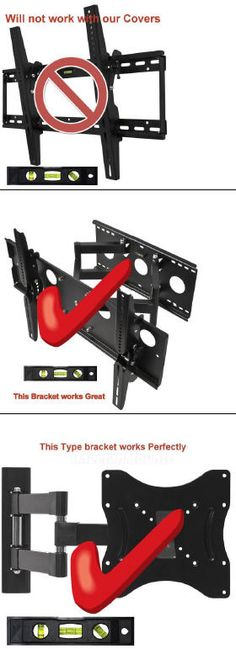 Right and Wrong TV Brackets for Television Covers